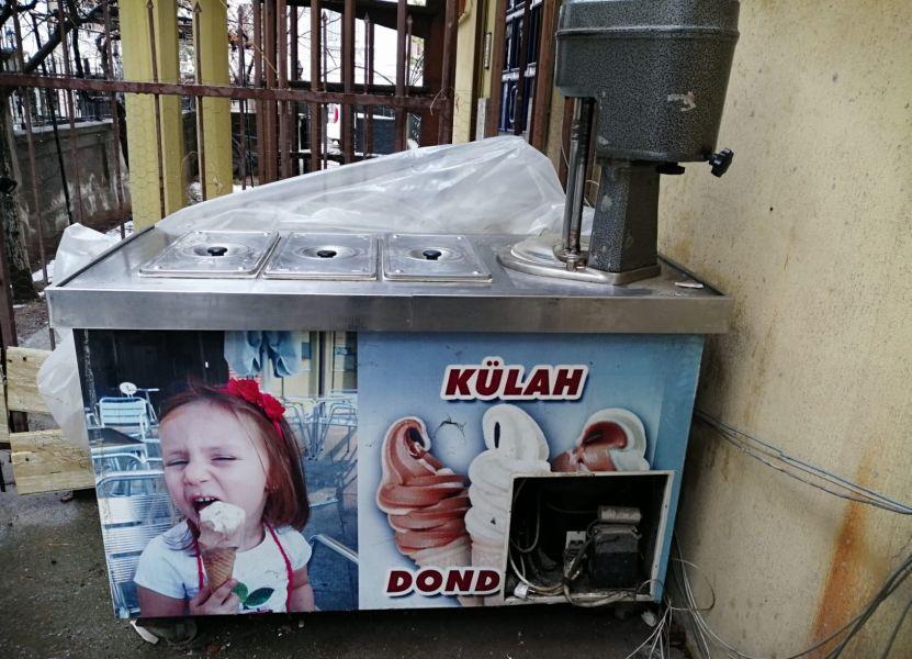 satilik ugur l16 dondurma makinasi cok